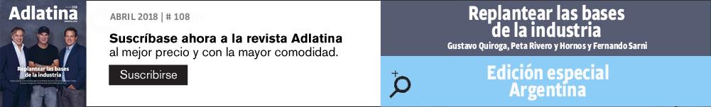 Suscripción Adlatina magazine
