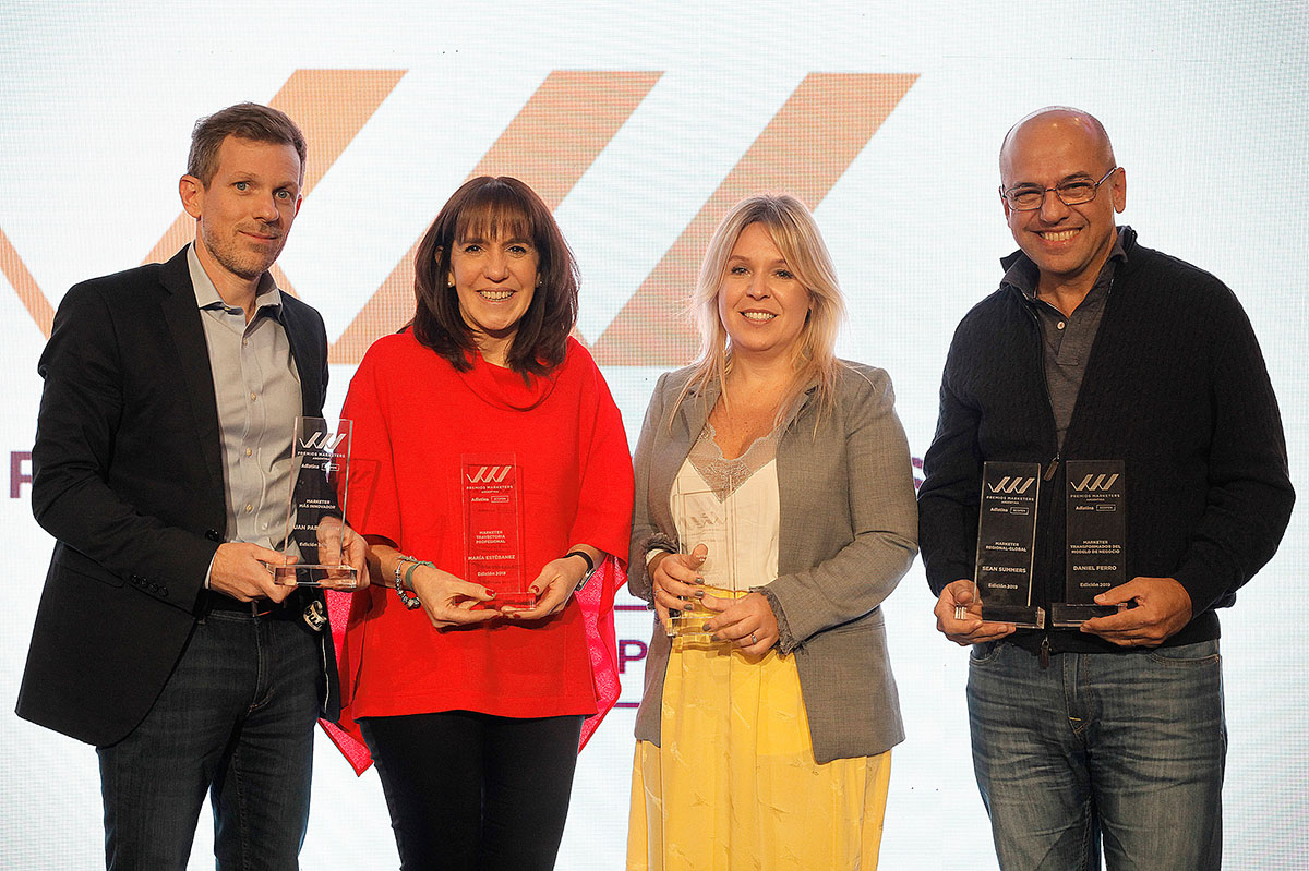 Mon, Ferro, Colombo, Estébanez y Summers ganaron el Premio Marketers Argentina 2019