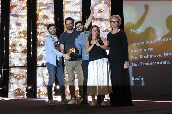 Sra. Rushmore logró el Grand Prix en Film Craft